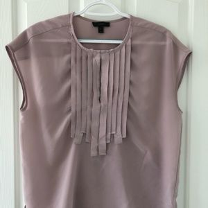 J. Crew Fringe Pink Blouse (Size 4)